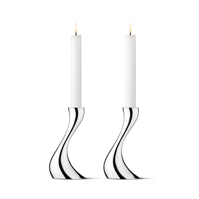 Georg Jensen - Cobra Small Candleholder, Set of 2