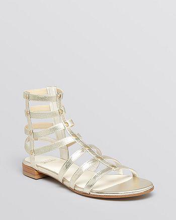 Stuart Weitzman - Flat Gladiator Sandals - Caesar