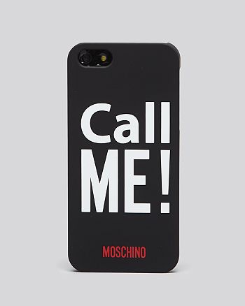 Moschino - Call Me! iPhone 5/5s Case