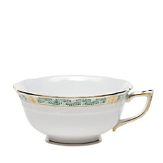 Herend Chinese Bouquet Garland Green Teacup - Bloomingdale's_0