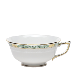 Herend Chinese Bouquet Garland Green Teacup