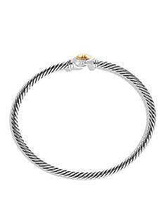 David Yurman - Cable Collectibles Heart Bracelet with Gold