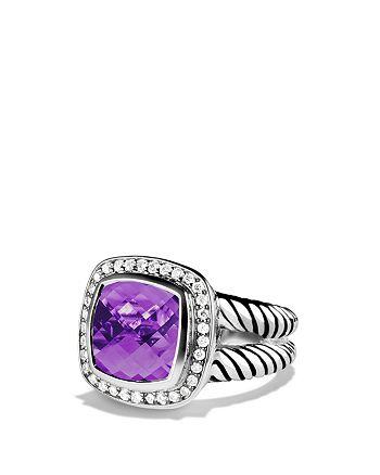 David Yurman - Albion Ring with Amethyst & Diamonds