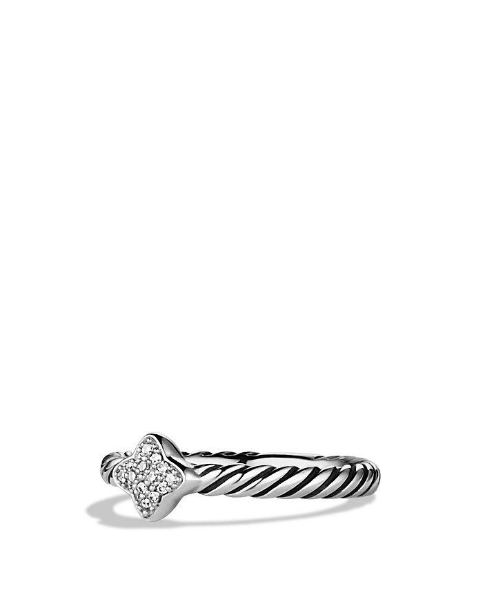 David Yurman - Quatrefoil® Ring with Diamonds
