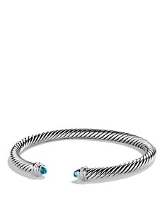 David Yurman Cable Classics Bracelet with Gemstones and Diamonds - Bloomingdale's_0