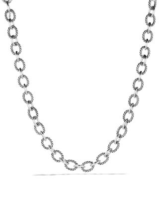 Oval Large Link Necklace, 17.5""