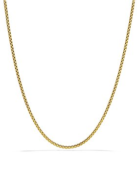 David Yurman - Small Box Chain in Gold