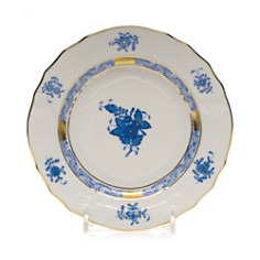 """Herend Chinese Bouquet Blue Bread & Butter, 6"""" - Bloomingdale's_0"""