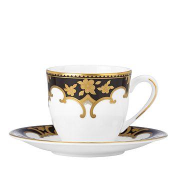 Marchesa by Lenox - Baroque Night Espresso Cup & Saucer