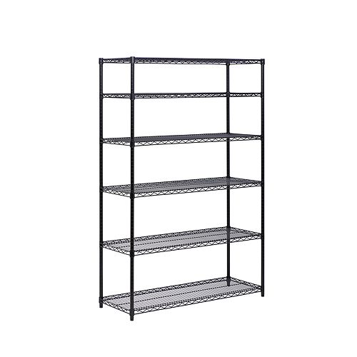 Honey Can Do - 6-Tier Shelving Unit