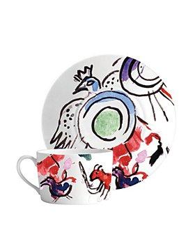 Bernardaud - Bernardaud Marc Chagall Joseph Tribe Breakfast Cup & Saucer