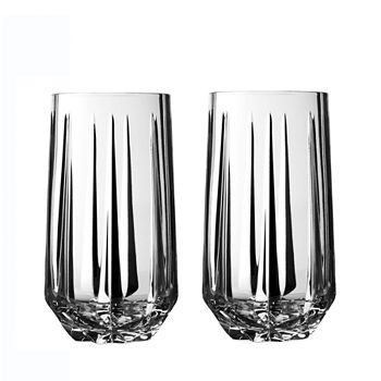 Wedgwood - Peplum Highball Glass, Set of 2