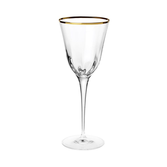 VIETRI - Optical Gold Water Glass