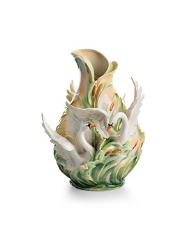 Franz Collection - Swan Lake Vase