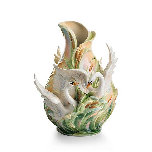Franz Collection - Swan Lake Vase