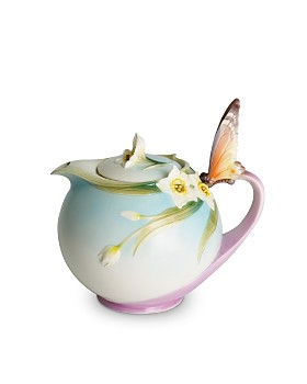 Franz Collection - Papillon Butterfly Teapot
