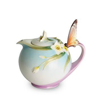 Franz Collection - Papillon Butterfly Teapot