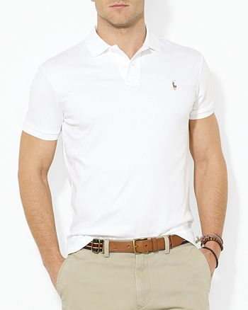 Polo Ralph Lauren - Pima Soft Touch Regular Fit Polo Shirt