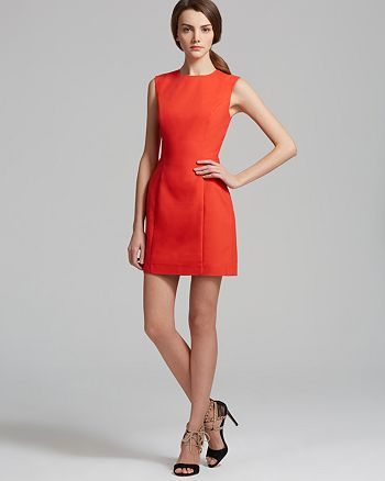 FRENCH CONNECTION - Super Stretch Solid Dress