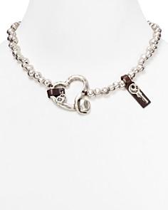 """Uno de 50 - Heartfelt Necklace, 18"""""""