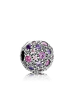 PANDORA Moments Collection Sterling Silver & Cubic Zirconia Cosmic Stars Clip - Bloomingdale's_0