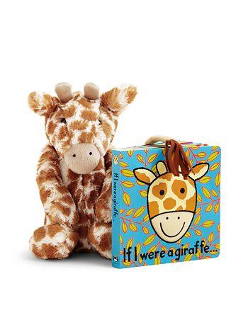 Jellycat - If I Were a Giraffe Book & Bashful Giraffe