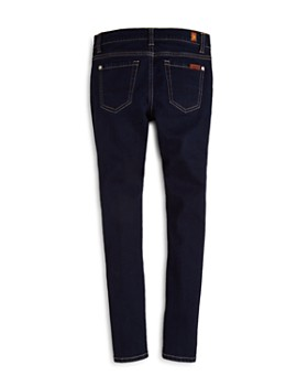 7 For All Mankind - Girls' Dark Indigo Skinny Jeans - Big Kid
