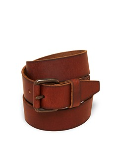 Bloomingdale's Boys' Leather Belt, Little Kid, Big Kid - 100% Exclusive_0