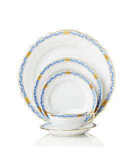 Herend - Chinese Bouquet Dinnerware, Garland Blue