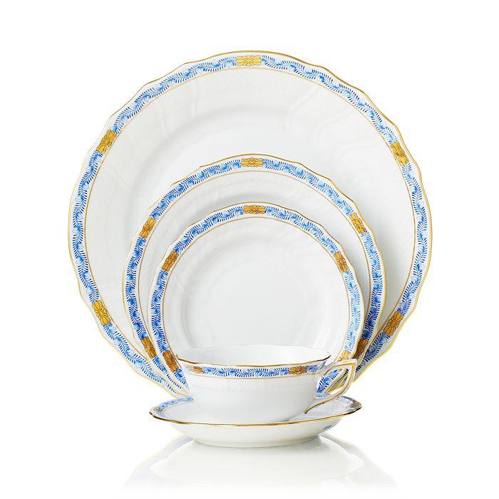 Herend - Chinese Bouquet Dinnerware, Garland Blue