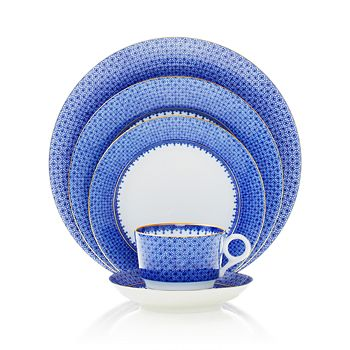 Mottahedeh - Blue Lace Cup & Saucer