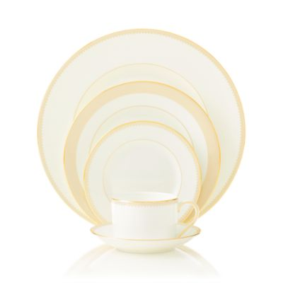 For Wedgwood Grosgrain 5-Piece Place Setting