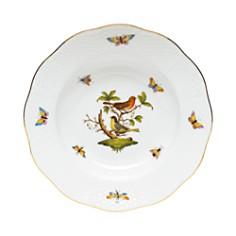 Herend - Rothschild Bird Rimmed Soup Bowl, Motif #3