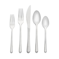 "Cambridge Silversmiths ""Samantha Mirror"" 20-Piece Flatware Set - Bloomingdale's Registry_0"