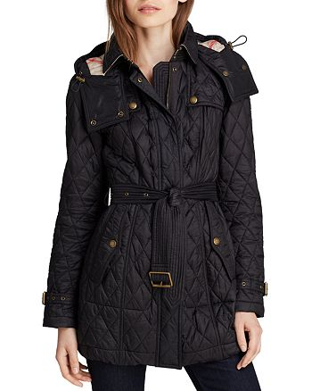 Burberry - Finsbridge Quilted Coat