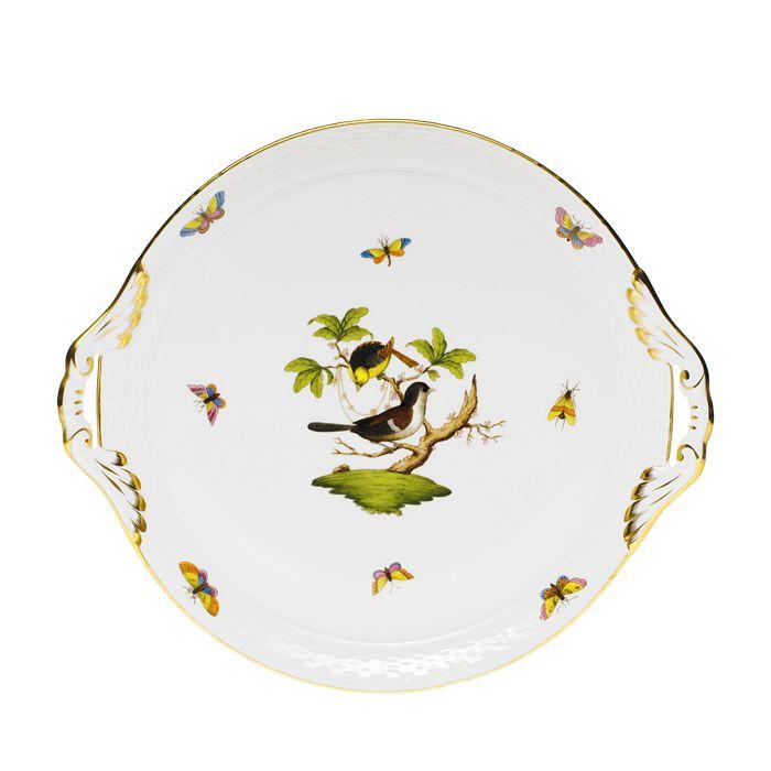 Herend - Rothschild Bird Round Tray