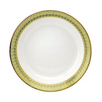 Philippe Deshoulieres - Arcades Green Soup Plate