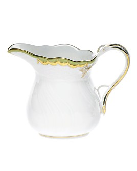 Herend - Princess Victoria Green Creamer