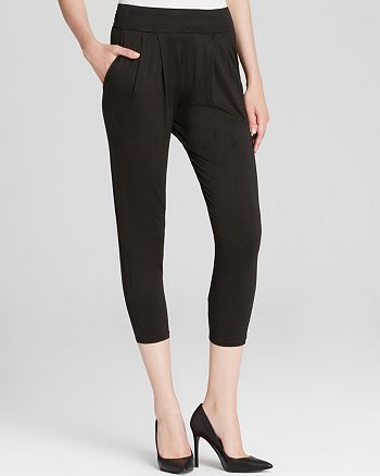 Three Dots - Cropped Slouchy Pants