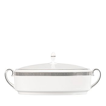 Wedgwood - Vera Lace Covered Vegetable Bowl