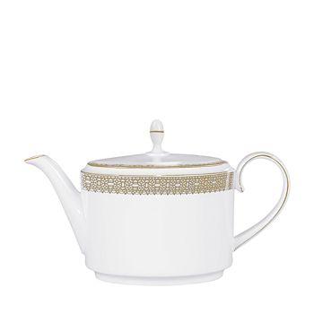 Wedgwood - Vera Lace Gold Teapot
