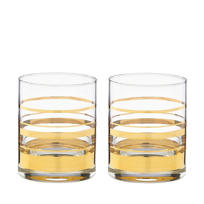 kate spade new york - Hampton Street Double Old-Fashioned Glass, Set of 2