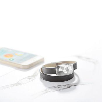 Netatmo - JUNE Sun Monitoring Bracelet, Platinum