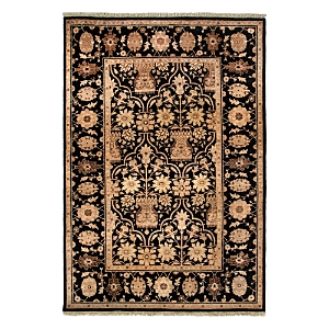Valley Collection Oriental Rug, 4'3 x 6'