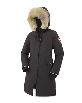 8e87d9958 Canada Goose - Girls  Fur-Trimmed Brittania Parka - Big Kid