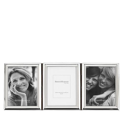 Reed & Barton - Capri 3 x 5 Triple Hinged Frame