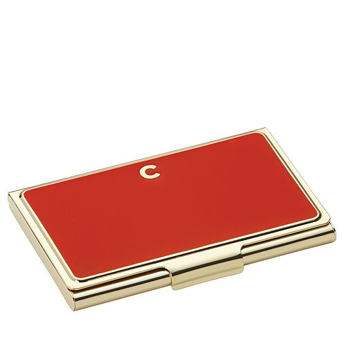 Kate Spade New York One In A Million Initial Business Card Holder