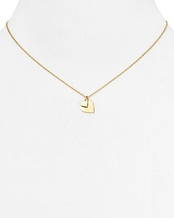 $Jennifer Zeuner Mattea Mini Double Heart Necklace, 16
