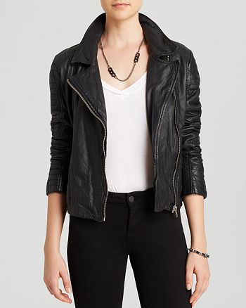 BB DAKOTA - Alec Leather Jacket
