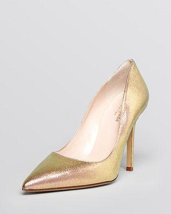2b084b1242c4 kate spade new york Pointed Toe Evening Pumps - Larisa High-Heel ...